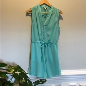 Teal blue/turquoise Guess dress